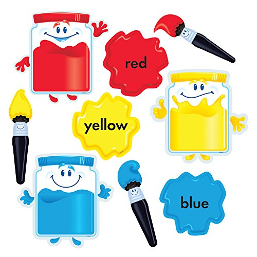 - TREND enterprises, Inc. Colortime Paints Bulletin Board Set