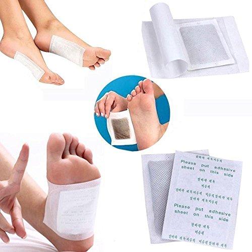 Foot Pads - 100 Foot Pads & 100 Adhesive Sheets 100 Sheet Pads