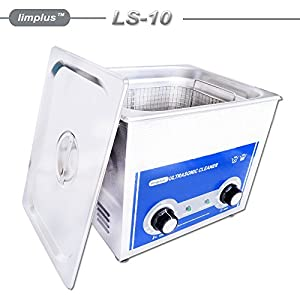 limplus Mechanical Ultrasonic Cleaner 10L LS-10 For Pistols Guns Bullets Cleaning