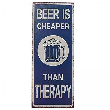 Cerveza Cartel de chapa Pizarra Bar Cartel Alemán Decoración ...