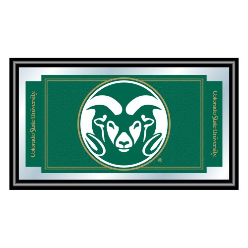 NCAA Colorado State University Framed Logo Mirror