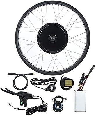 BTIHCEUOT Kit de Rueda de Bicicleta eléctrica, Kit de conversión ...