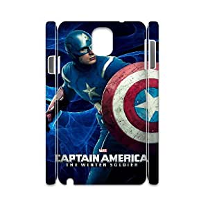 J-LV-F Diy case Captain America customized Hard Plastic case For samsung galaxy note 3 N9000