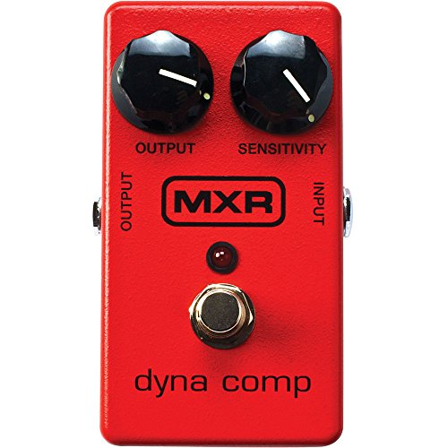 MXR M102 Dyna Comp Compressor Pedal w/Bonus Patch Cord & RIS Picks (x3) 710137006539 by Rock Island Sound
