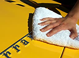 6 Of Our Best! THE RAG COMPANY 16 in. x 16 in. Ultimate Auto Detailing Microfiber Sample Kit - Professional Korean 70/30 Blend Towels