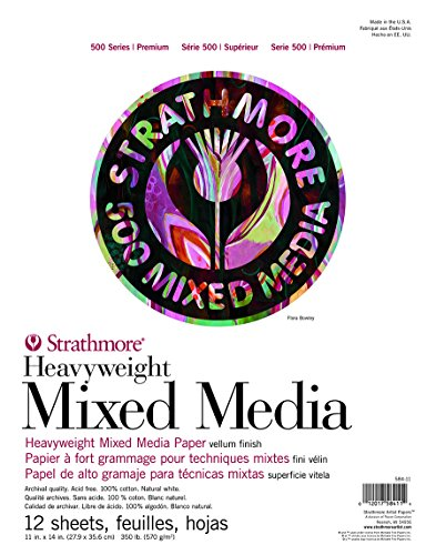 Strathmore (584-11 500 Series Heavyweight Mixed Media, 11