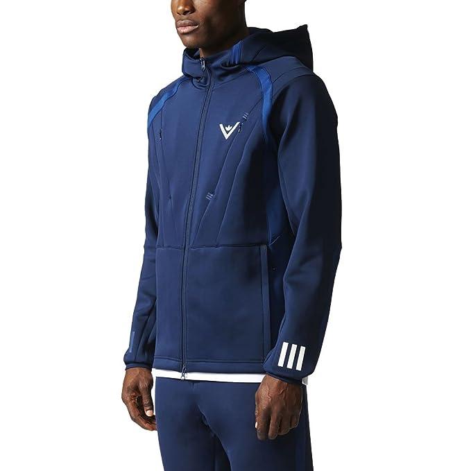 c4933dc12 Adidas X White Mountaineering Men's Hooded Track Jacket at Amazon Men's  Clothing store: