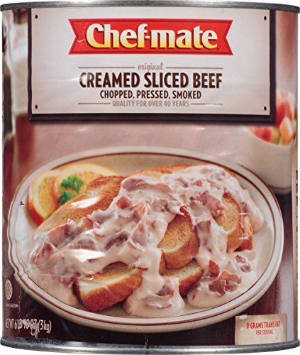 Price comparison product image Chef-mate Creamed Sliced Beef, 6-lb 10-oz