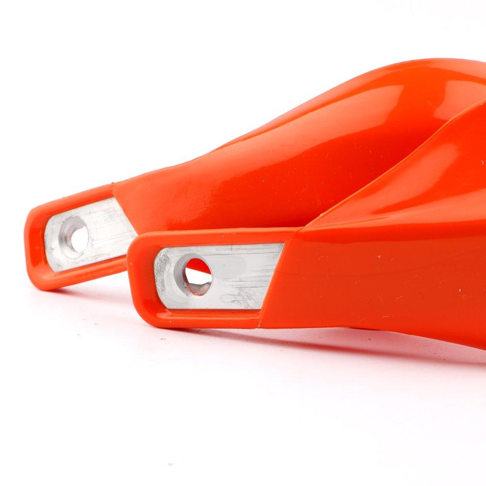 Dual Sport Dirt Bike ATV MX Motocross Enduro Aluminum Inside Hand Brush Guards for Yamaha Suzuki (Orange) pasen povor