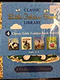 download ebook classic little golden book library (4 classic little golden book stories the poky little puppy, the saggy baggy elephant, home for a bunny, and scuffy the tugboat) pdf epub