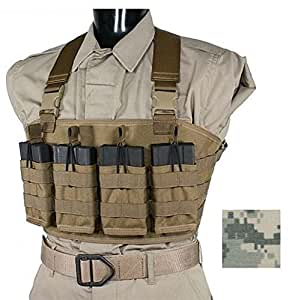 Specter Gear 7.62NATO Rapid Reload Chest Carrier, Army ACU Camo