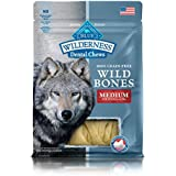 BLUE Wilderness Wild Bones Grain Free Dental Chews, 10 oz., Medium Bones for Dogs