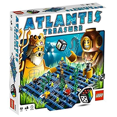 LEGO Games Atlantis Treasure 3851