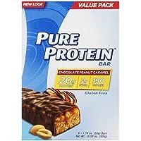 6-Pk. Pure Protein Chocolate Peanut Caramel 50 gram
