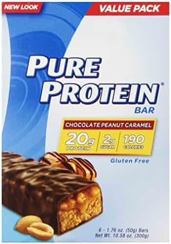 Pure Protein® Chocolate Peanut Caramel, 50 gram, 6 count Multipack