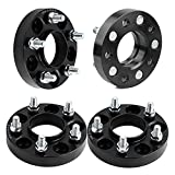 """5x4.5 Wheel Spacers, YITAMOTOR 4pcs 1"""" 5x4.5 Wheel Spacers For Ford Mustang Ranger Edge Explorer Lincoln Mazda 5 Lug 5x114.3 Wheel Spacers Adapters(1/2"""" Studs& 70.5mm bore)"""