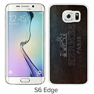 Hot Sale Samsung Galaxy S6 Edge Case ,Unique And Lovely Designed Case With Hermes 5 White Samsung Galaxy S6 Edge Cover