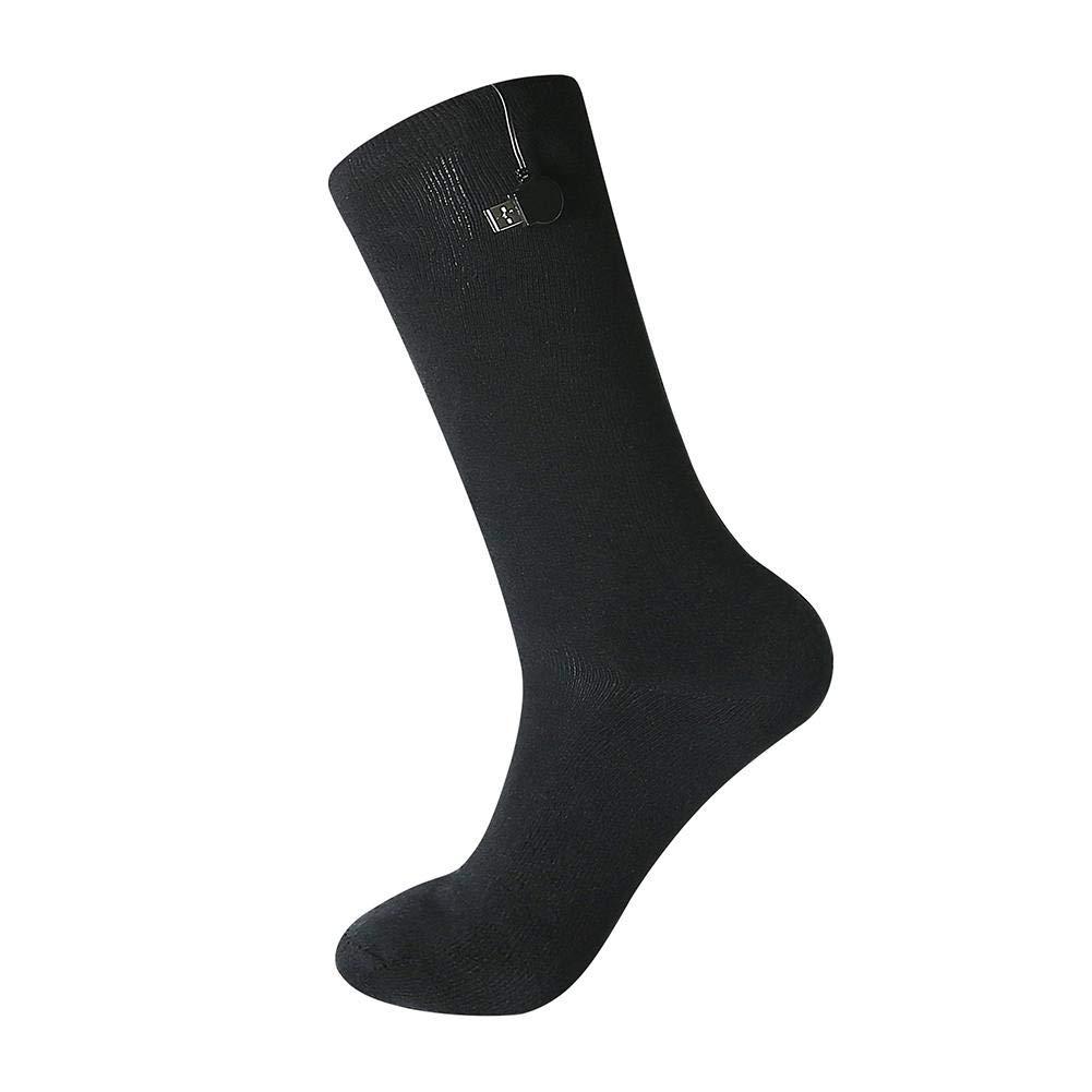Chaudes Et Confortables. Ntribut Chaussettes Chauffantes Chaussettes Chauffantes USB Chaussettes Chauffantes dhiver Les Chaussettes /Épaisses sont Douces
