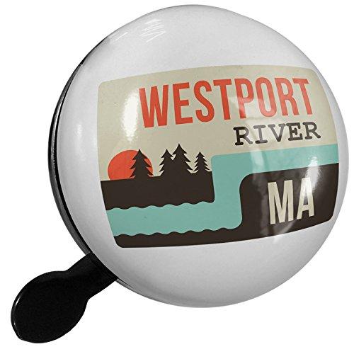 Small Bike Bell USA Rivers Westport River - Massachusetts - - Usa Westport