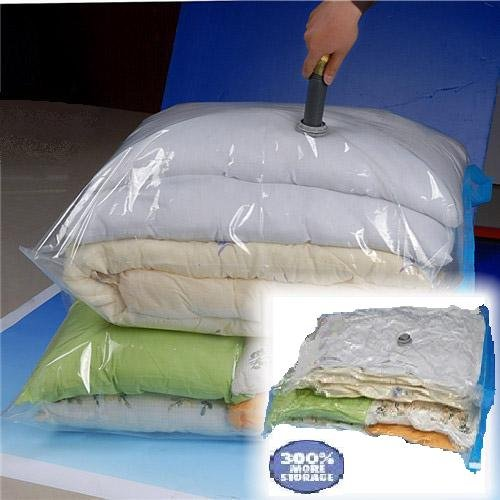 50 PACK Huge Vacuum Seal Moving Storage Bag Space Saver Jumbo size Wholesale Deal by Ebuy4less