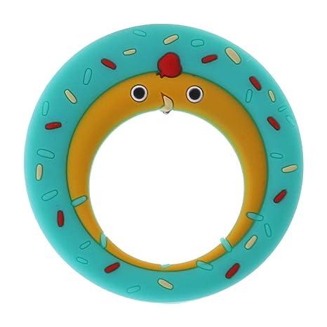 Lyguy, mordedor, Anillo para bebés, Donut Chick, Dibujos ...