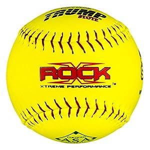 """1 Dozen ASA 12"""" Softballs 52 COR 300 Compression 12 Balls (X-ROCK-ASA-RP-Y)"""