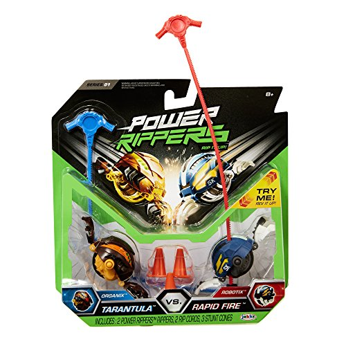 Power Rippers 2 Pack Series #1 - Tarantula Vs. Rapid Fire by Power Rippers