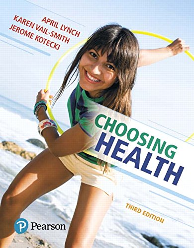 Choosing Health Plus Mastering Health with Pearson eText -- Access Card Package (3rd Edition)