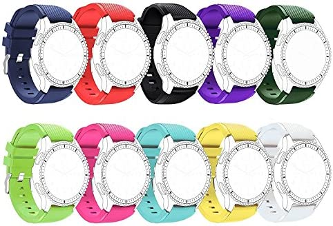 Replacement Silicone Bands for Motorola Moto 360 2nd Gen. Mens ...