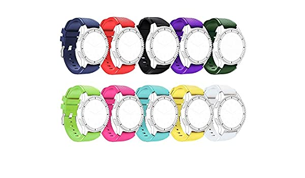 Replacement Silicone Bands for Motorola Moto 360 2nd Gen ...