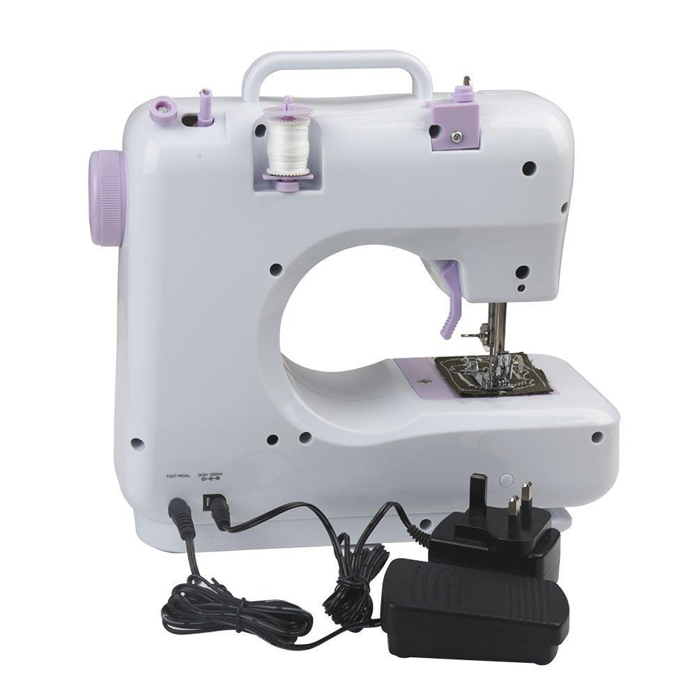 Farway LED Elektronische Nähmaschine 12 Stiche Multifunktions ...