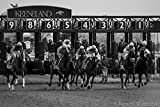 Fine Art Print of Keeneland Horse Races, Lexington Bluegrass Kentucky.