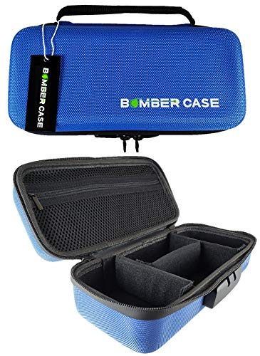 BOMBER CASE - Combination Lock Box - Smell Proof Case - Stash Case - Customizable Padded Interior - Flexible Construction and Odor Proof Zipper with Combo Lock - Safe - 9.5