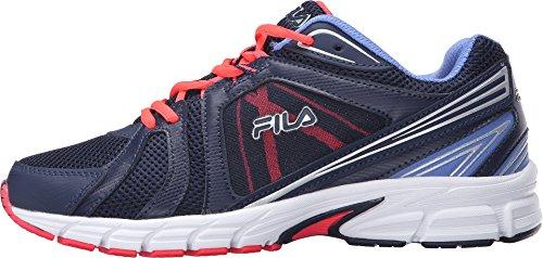 Fila Donna Sneakers Running Da Uomo In Maglia, Sneakers Atletiche In Gomma Fila Navy, Rosa Diva, Wedgewood