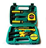 8 Piece General Repair Household Home Hand Tool Set with Tool Box Storage Case