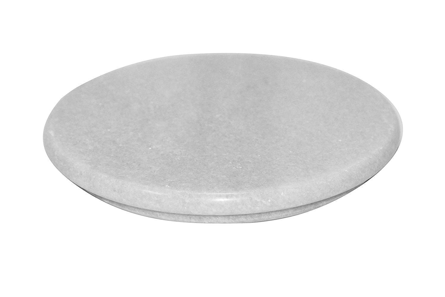 Shopnetix Marble Chakla/Marble Roti Maker/Marble Rolling Board,Large Size 9 Inch (22 cm) (White) product image