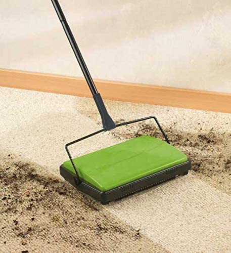 Kehrgerät Kerhmaschine Kehrbesen Besen Bodenreiniger Reinigen Teppichroller 8838