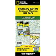 Boundary Waters/Canoe Area Wilderness Map Pack