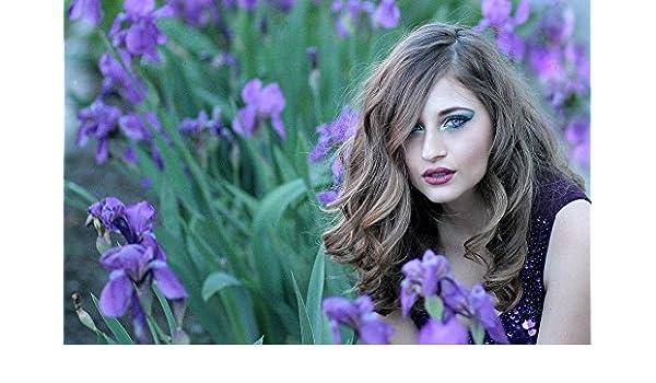 "Poster 24/"" x 36/"" Purple Beauty"