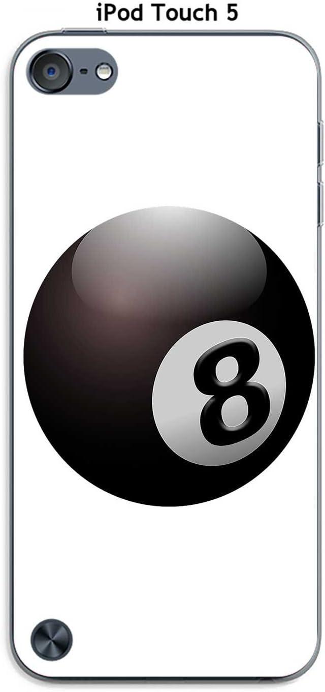 Onozo Carcasa Apple iPod Touch 5 diseño Bola de Billar N ° 8 ...