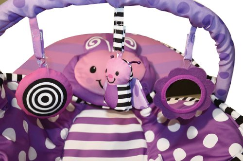 Sassy Cuddle Bug Bouncer, Violet Butterfly by Hamacher (Image #3)