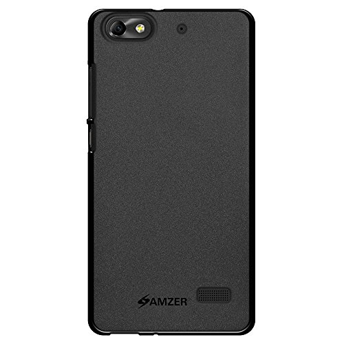 Amzer Pudding TPU Skin Case Back Cover for Huawei Honor 4C - Retail Packaging - Black