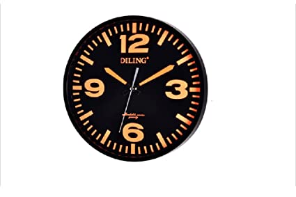 LILSN Relojes personalizados Reloj de pared de moda artística Reloj de pared minimalista minimalista Reloj de
