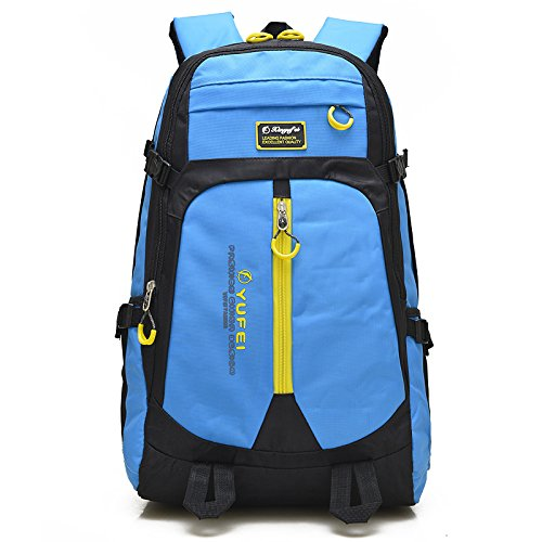 Sport Rucksack Outdoor Freizeit touristische Schultern zurück Kratzfeste Masse Klettern Taschen Zyqs-0366, blau