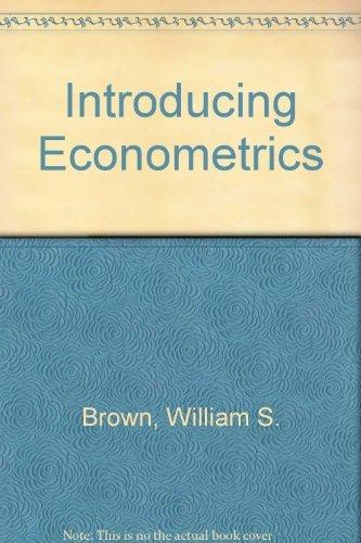 Introducing Econometrics