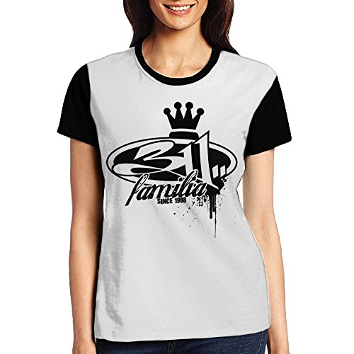 JDJ N1N 311 Familia Women's Short Sleeve T Shirt Teeshirt