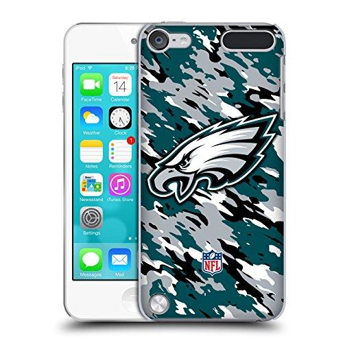 Official NFL Camou Philadelphia Eagles Logo Hard Back Case for iPod Touch 5th Gen / 6th Gen
