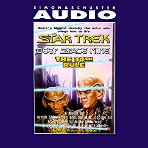 Star Trek, Deep Space Nine: The 34th Rule (Adapted) Audiobook
