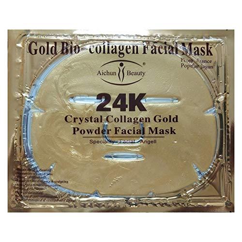 Generic Gold Bio-Collagen Facial Face Mask (5PCS)