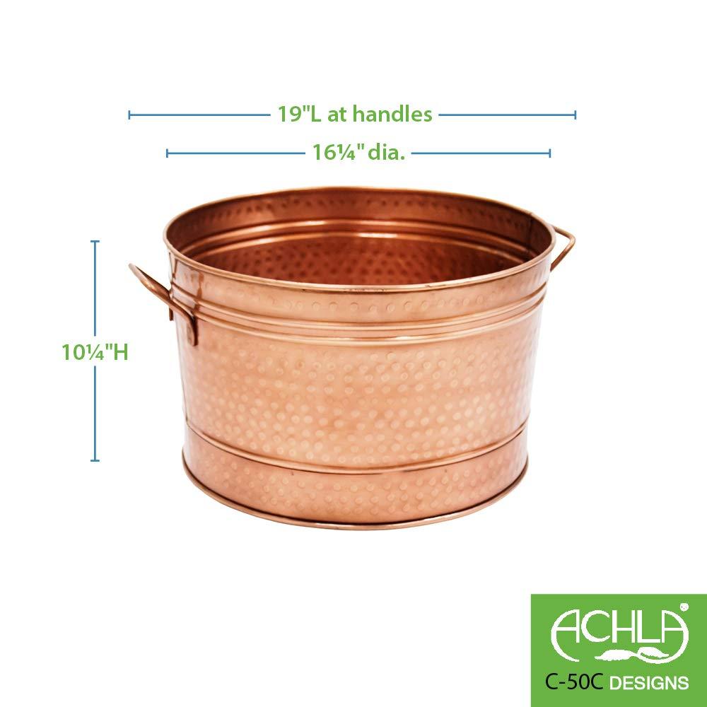 Achla Designs Round Steel Tub